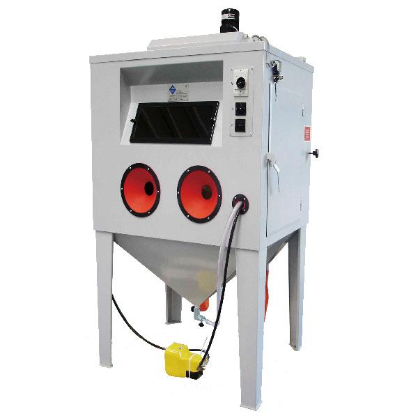 吸送式箱體噴砂機