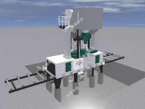 Q6915新型輥道連續通過式拋丸清理機